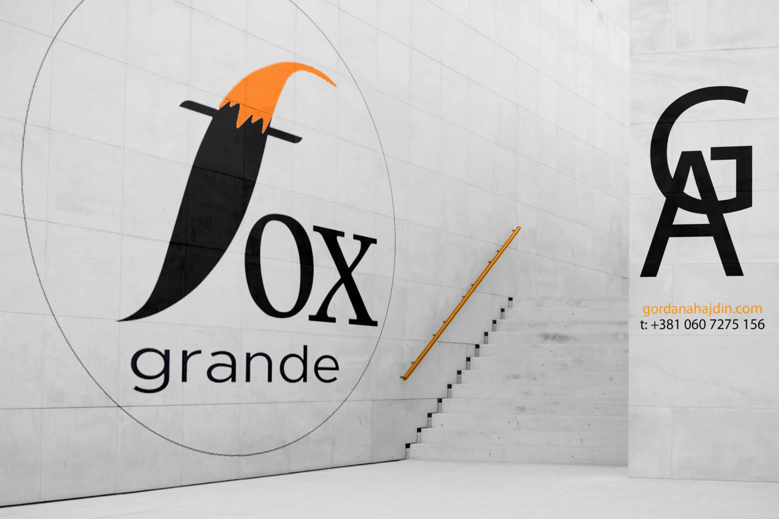 reklama fox na zidu