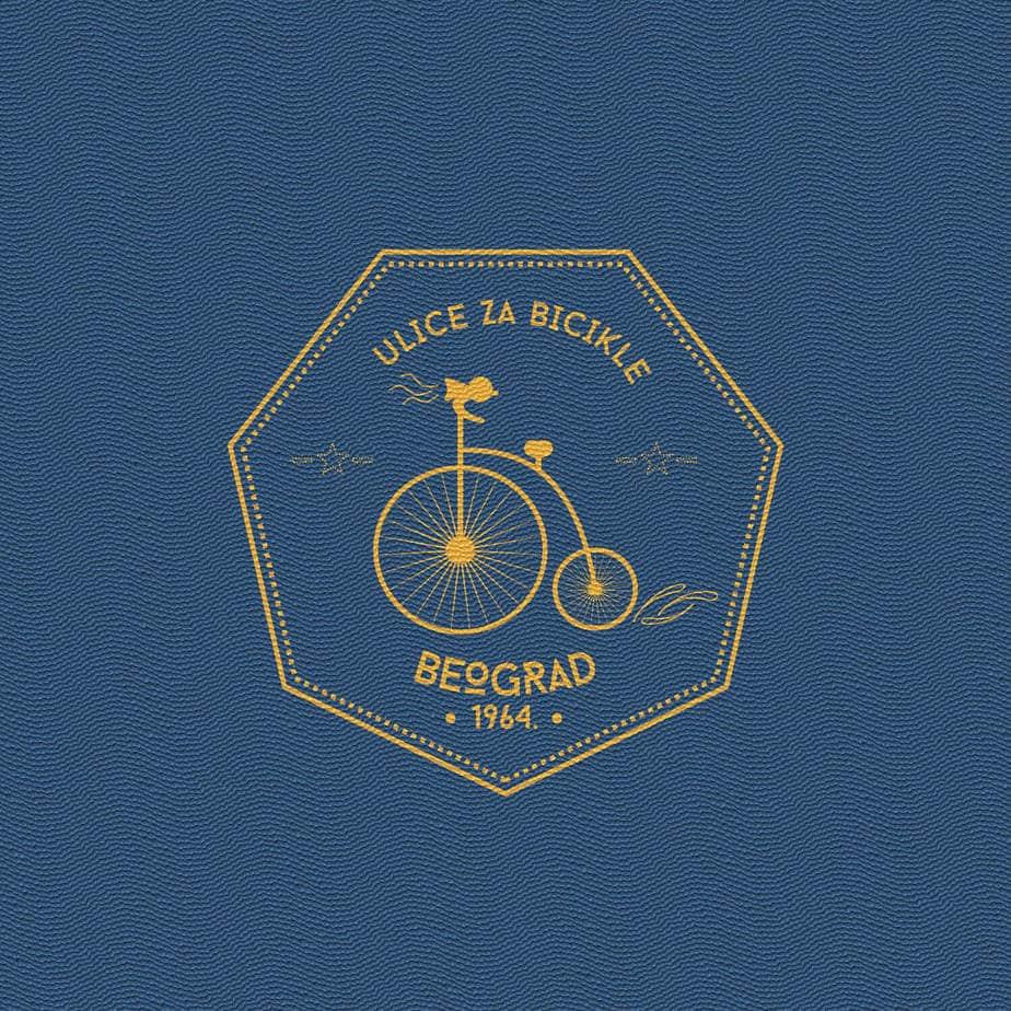 logo na plavoj pozadini